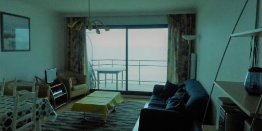 Appt type 3 balcon face mer et terrasse sud