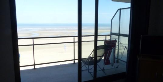 Superbe Appt avec grand balcon face mer