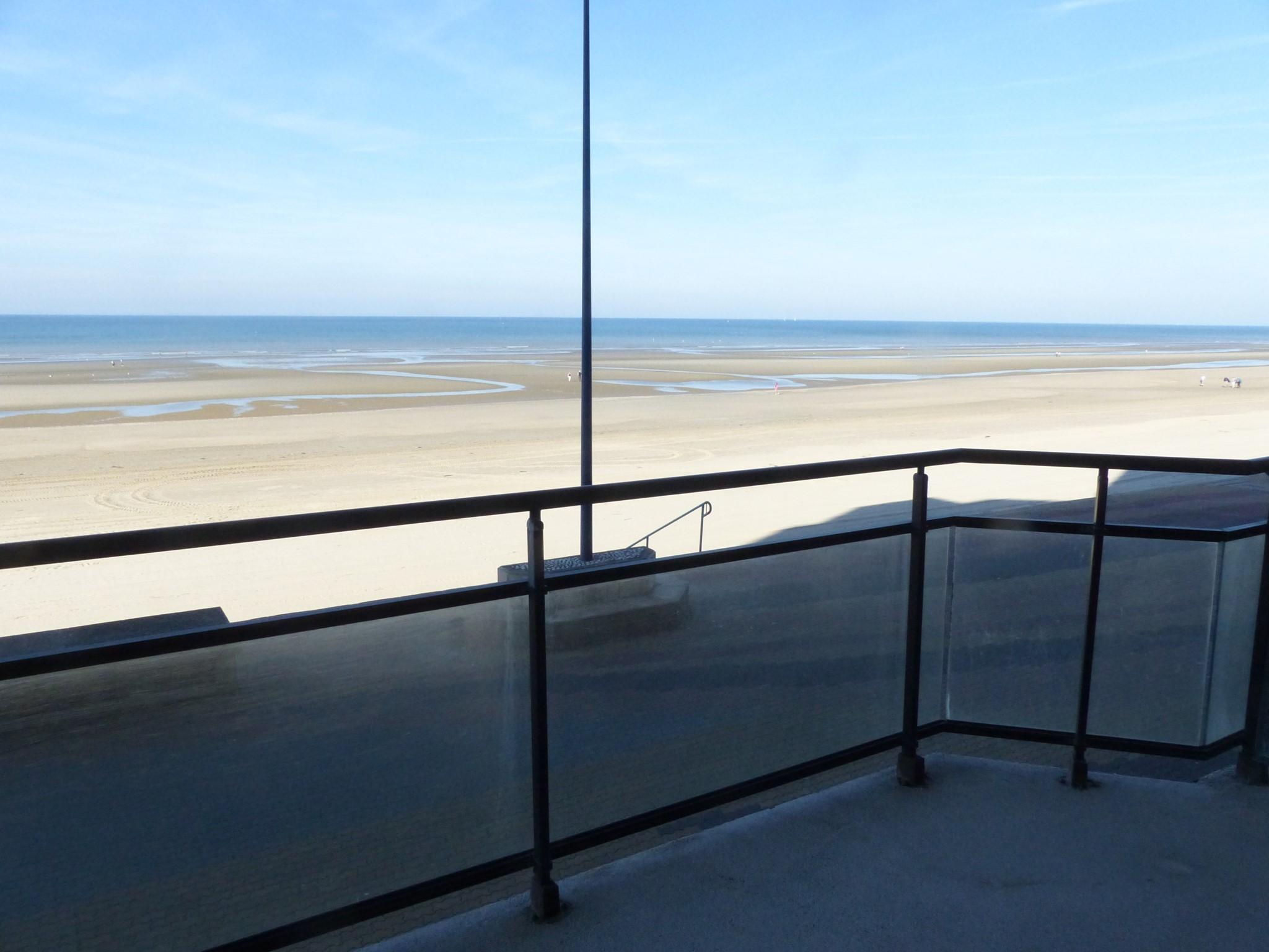 Type 3 face mer avec grand balcon et terrasse sud