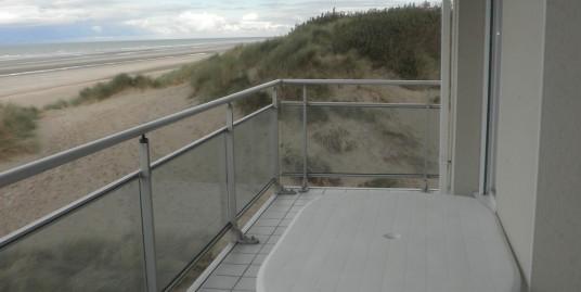 Type 4 balcon face mer et terrasse sud