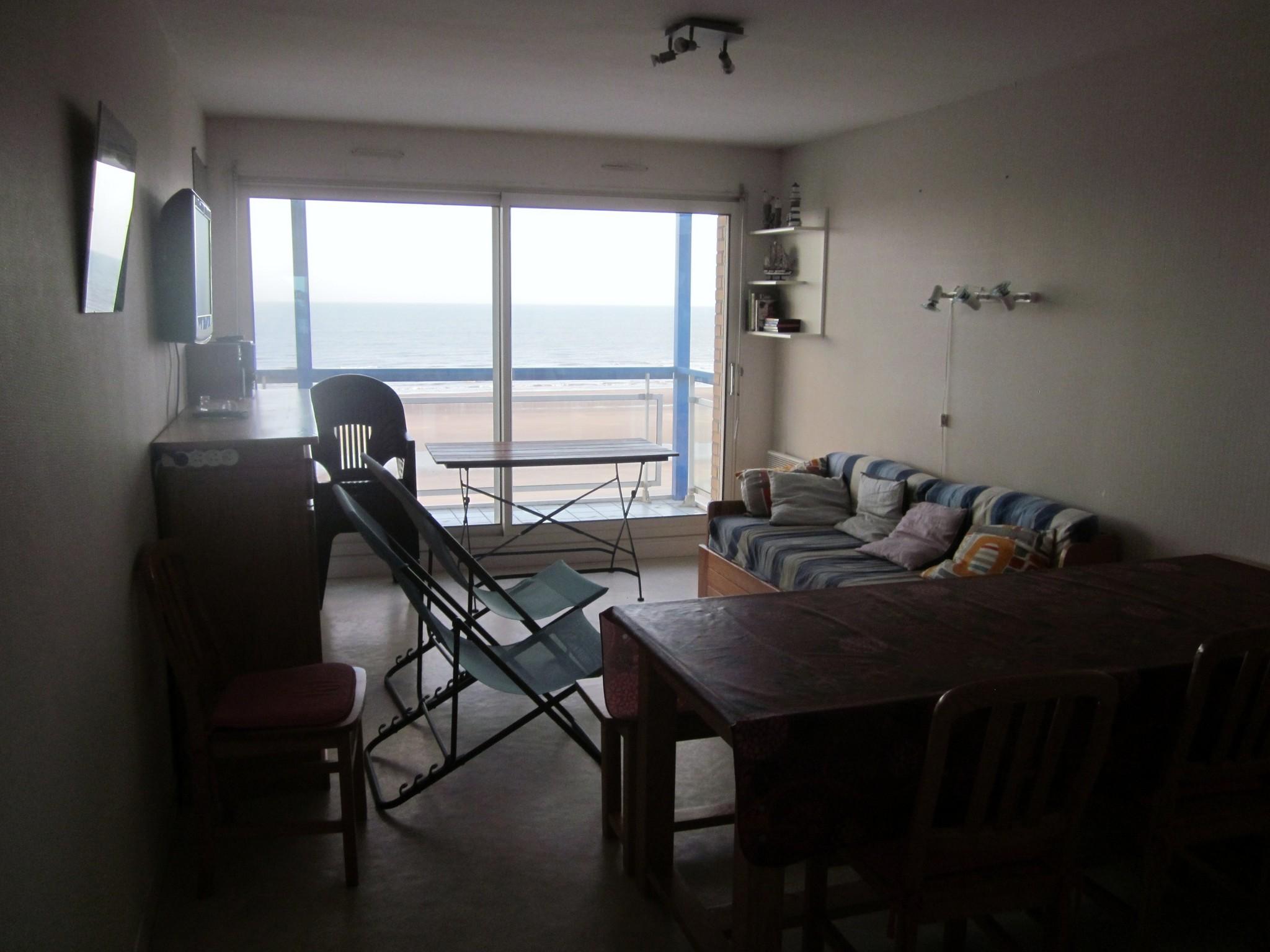 Type 3 balcon face mer et terrasse  sud