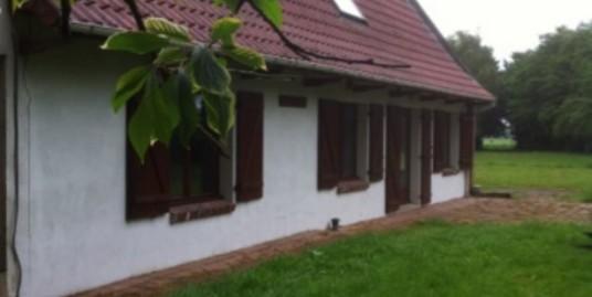 Jolie maison avec terrain et hangar à Ledringhem