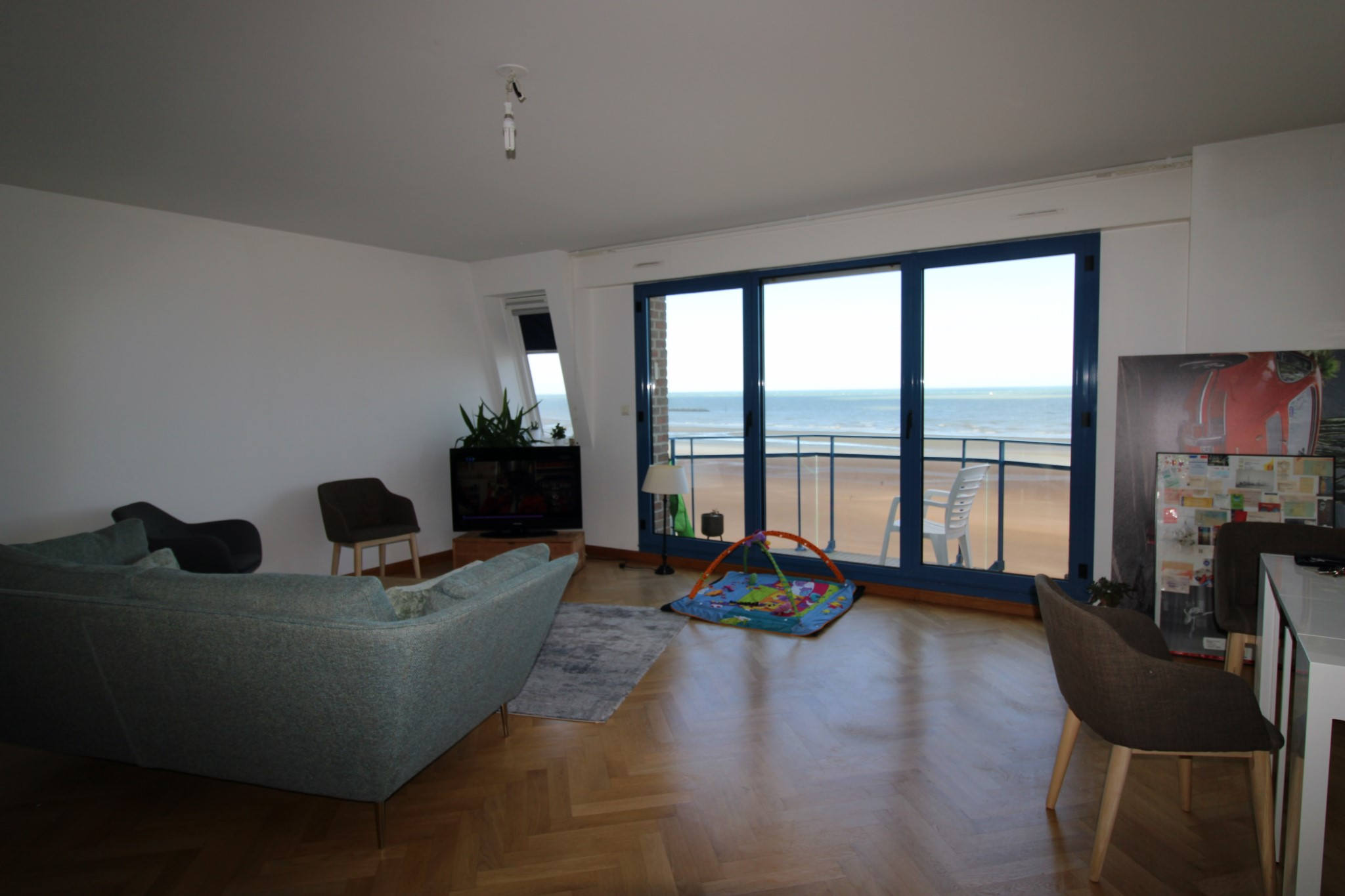 Très bel appartement en duplex T5 vue mer